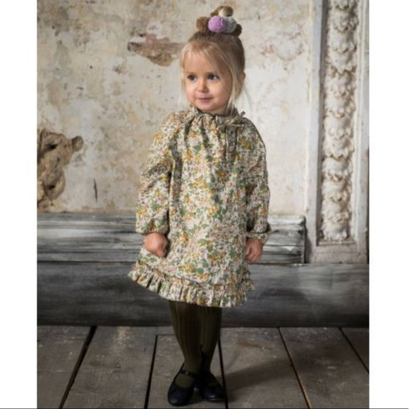 b4cfae2cf20db6 Bebe Organic Dresses | Girls Cotton Greta Dress Floral Nwt | Poshmark